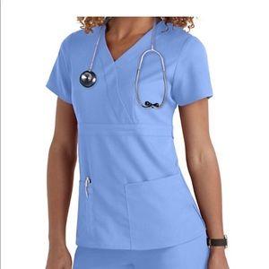 Grey's Anatomy Tops - 💊 Grey's Anatomy Scrub wrap top 💊